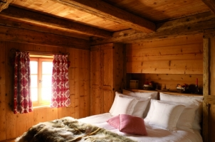 White Deer San Lorenzo Mountain Lodge - Il Nido Bedroom