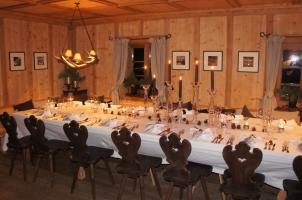 White Deer San Lorenzo Mountain Lodge - Dinner Time