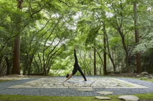 Aman Kyoto - Tengamine Terrace Yoga