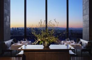 Aman Tokyo - View while eating