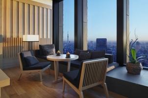 Aman Tokyo - Premier room set-up