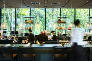 Aman Tokyo - Cafe