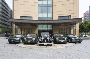 The Peninsula Tokyo -Rolls-Royce and BMW Car Fleet