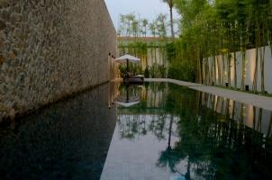 Amansara -Lap pool