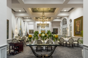 Cambodia - Raffles Hotel Le Royal  - Dining Room