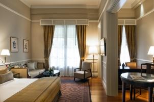 Cambodia - Raffles Hotel Le Royal  - Colonial Suite