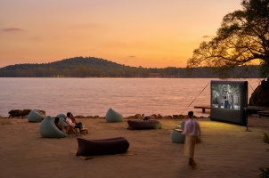 Six Senses Krabey Island - Cinema Paradiso