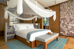 Six Senses Krabey Island - Ocean Pool Villa Suite Bedroom