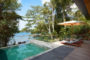 Six Senses Krabey Island - Oceanfront Pool Villa Suite