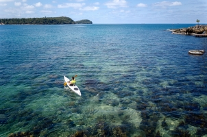 Six Senses Krabey Island - Surf Ski