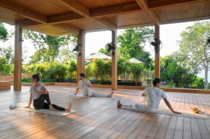 Six Senses Krabey Island - Yoga Rooftop Pavilion