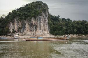Amantaka - Amanataka Boat by Pak Ou Caves