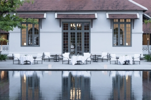 Amantaka - Outdoor Dining Area