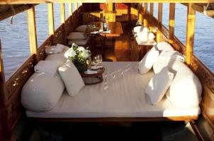 Amantaka - River Boat Interior