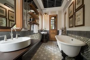 Rosewood Luang Prabang -  Riverside Villa Bathroom