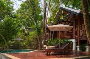 Rosewood Luang Prabang - Waterfall Pool Villa Terrace