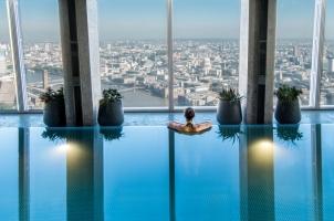 Shangri La Hotel at The Shard - London - Sky Pool