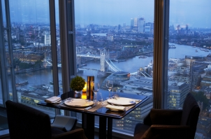 Shangri La Hotel at The Shard - London - Restaurant with a view