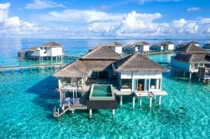 Raffles Maldives - Sunset Overwater Villa