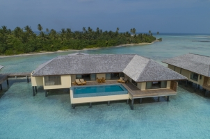 The Residence Dhigurah - Two Bedroom Water Pool Villa