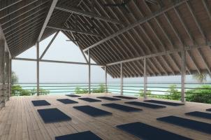 COMO Cocoa Island - Shambhala Retreat Yoga Pavilion