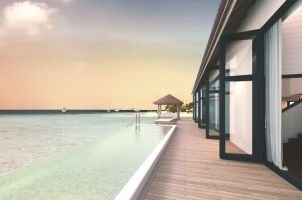 COMO Cocoa Island - Water Villa with Pool Deck