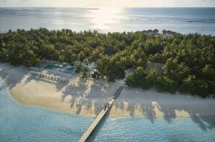 COMO Maalifushi Malediven - Area View Poolside