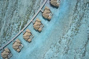 COMO Maalifushi Malediven - Area View Water Villas