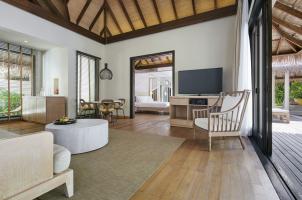 COMO Maalifushi Malediven - Beach Villa Living Room