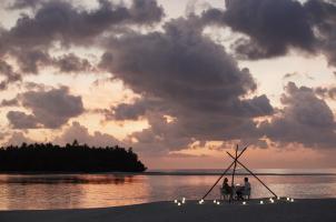 COMO Maalifushi Malediven - Romantic Dinner