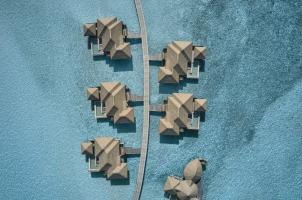 COMO Maalifushi Malediven - Water Villas View