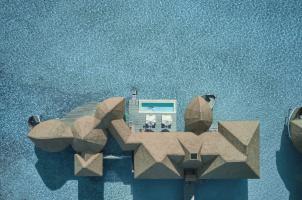 COMO Maalifushi Malediven - Water Villa Deck
