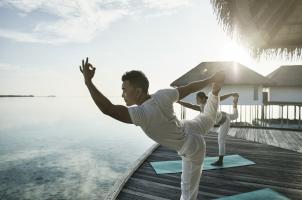 COMO Maalifushi Malediven - Yoga