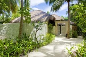 Maledives COMO Maalifushi - Garden Suite Entrance