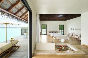 Maledives COMO Maalifushi - Shambhala Spa Double Treatment Room