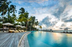 Maledives COMO Maalifushi - Pool