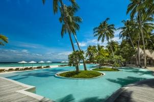 Maledives COMO Maalifushi - Swimming Pool