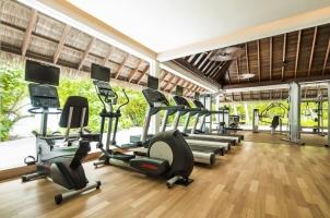 Maledives COMO Maalifushi - Gym