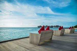 Maledives COMO Maalifushi - Deck