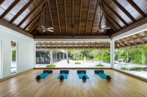 Maledives COMO Maalifushi - Yoga Studio