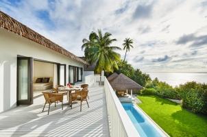 Maledives COMO Maalifushi - COMO Residence Balcony