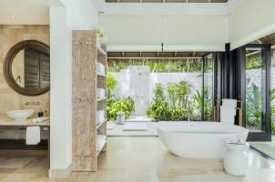 Maledives COMO Maalifushi - Maalifushi Beach Villa Bathroom