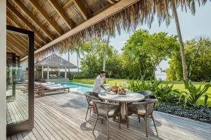Maledives COMO Maalifushi - Maalifushi Beach Villa Pool
