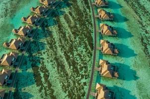 Maledives COMO Maalifushi - Water Villa Jetty