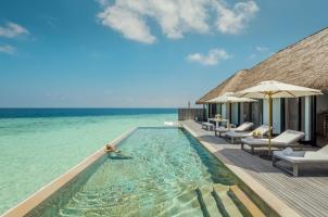 Maledives COMO Maalifushi - Maalifushi Water Villa Pool
