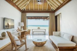 Maledives COMO Maalifushi - Maalifushi Water Villa Study Room