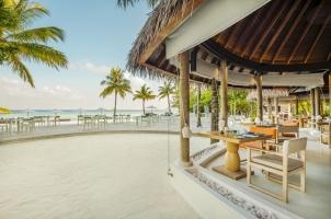 Maledives COMO Maalifushi - Madi Outdoor Seating