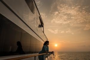 Maledives Four Seasons Explorer - On the ship