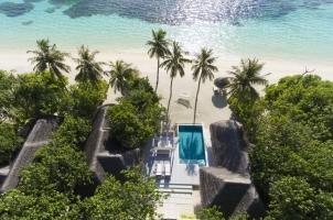 Kanuhura Maldives - Aerial View