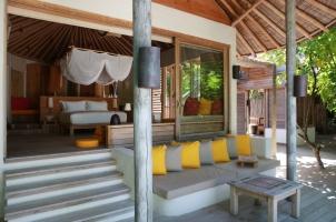 Maledives Six Senses Laamu - Beach Villa